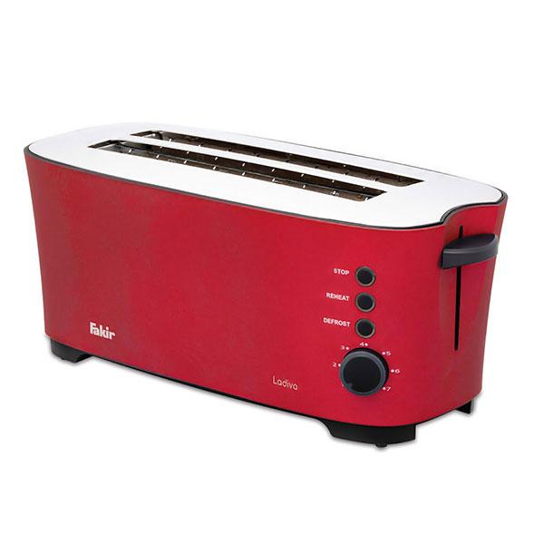 tosteri fakir ladiva toaster rouge