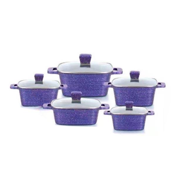 uakeen violet square casserole